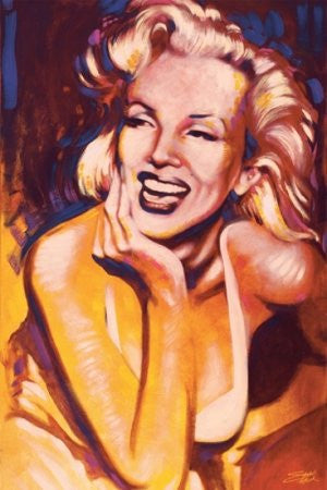 Stephen Fishwick - Marilyn Monroe Fun (24x36) - PIN57025