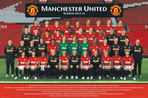 Manchester Team Photo 12/13 (24x36) - SPT44532