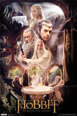 "FLM56049 ""The Hobbit - Rivendell"" (22 X 34)"
