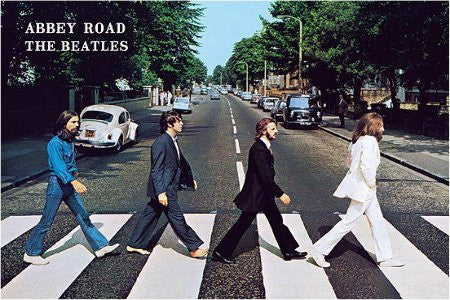 The Beatles - Abbey Road (40x60) - MUS31075