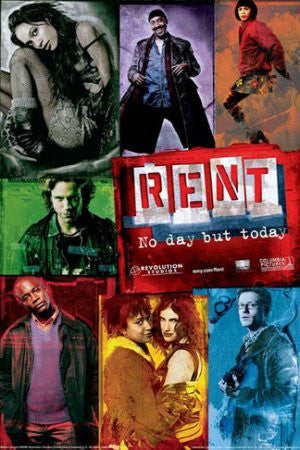 "FLM60022"" Rent - Character Collage"" (11 X 14)"