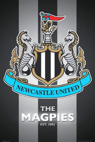 SPT44511 Newcastle Club Crest 24X36