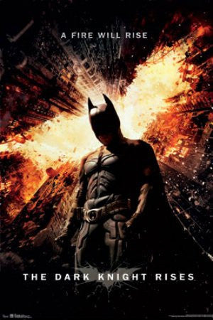 "FLM56040 ""Dark Knight Rises - One Sheet"" (22 X 34)"
