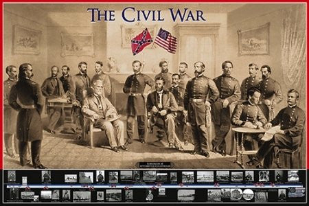 "ISP57011 ""The Civil War - The Civil War"" (24 x 36)"