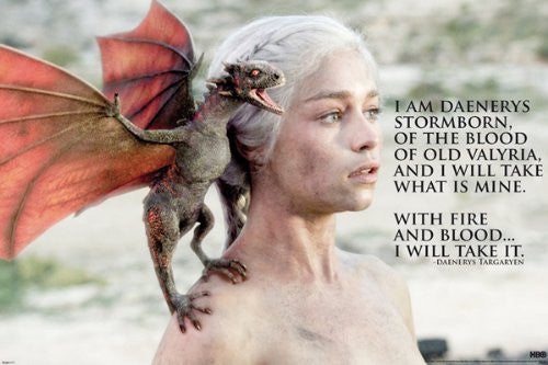 Game of Thrones - Daenerys (24x36) - FLM91054