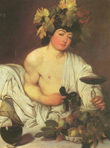 FAR31041 Caravaggio - 'The Young Bacchus' (23 X 31)