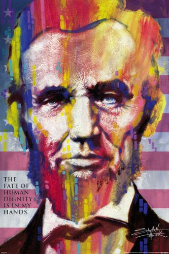 Stephen Fishwick - Abraham Lincoln (24x36) - ISP90018