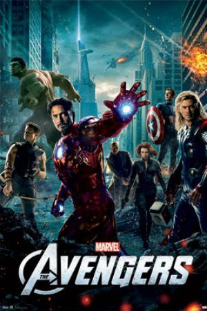 "FLM56047 ""The Avengers - One Sheet"" (22 X 34)"