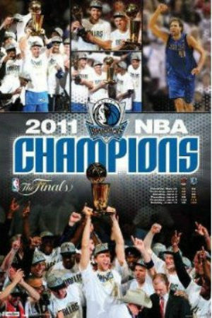 "SPT35664"" Dallas Mavericks - 2011 NBA Champions"" (22 X 34)"
