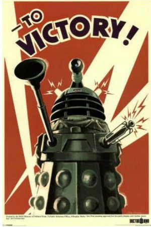 Doctor Who - Dalek To Victory (24x36) - FLM56013