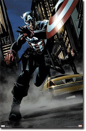 FLM56058 Captain America - Comics (22 X 34)