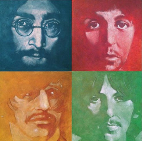 Stephen Fishwick - The Beatles (36x36) - CANV00011