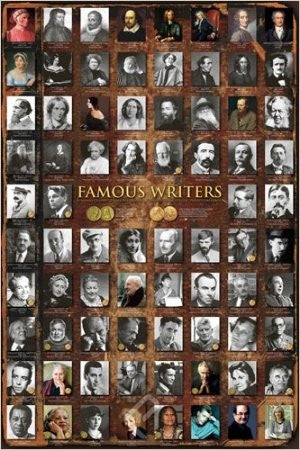 Famous Writers (24x36) - ISP57018