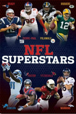 "SPT33364 ""NFL - Superstars 2012"" (22 X 34)"