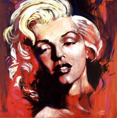 "Stephen Fishwick - ""Marilyn Monroe HOT!"" (12x12) - CANV00001"