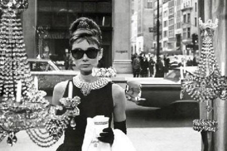 Audrey Hepburn Window Shopping (36x24) - PIN51161