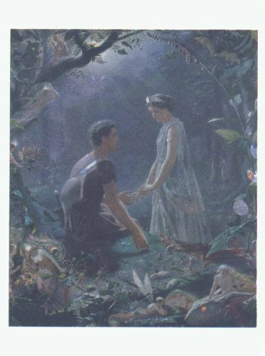FAR33223 Simmons - 'Hermia and Lysander' (20 X 28)