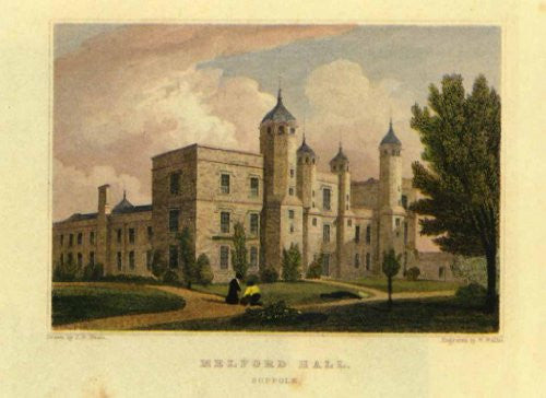 FAR31192 Serie Castelli - 'Melford Hall' (14 X 20)
