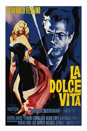 "FLM70024 ""La Dolce Vita - Movie Score"" (24 x 36)"