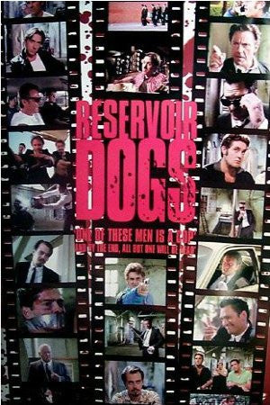 "FLM00887"" Reservoir Dogs - Film Strip"" (39 X 54)"