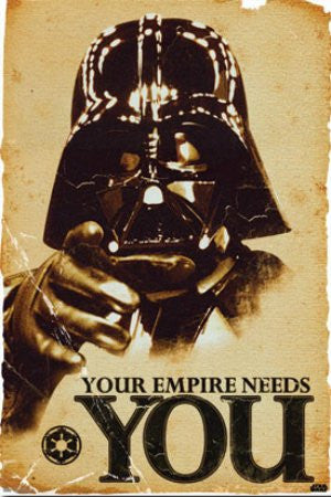 "Star Wars - ""Your Empire Needs You"" (24x36) - FLM56054"