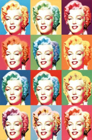 Visions of Marilyn Monroe (24x36) - FAR03395