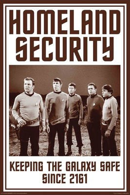 FLM70081 - Star Trek Homeland Security 24x36