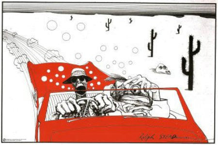 "FLM00045"" Ralph Steadman - Fear and Loathing"" (24 X 36)"