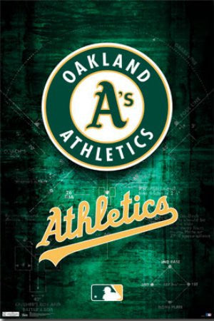 "SPT33369 ""Oakland Athletics - Logo"" (22 X 34)"