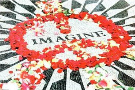 John Lennon - Imagine Memorial (24x36) - MUS44003