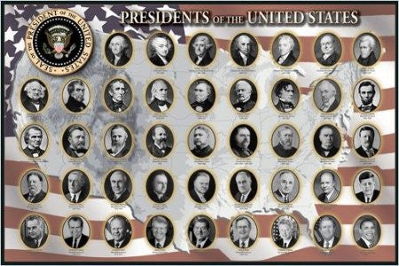 Presidents of the United States (24x36) - ISP57017
