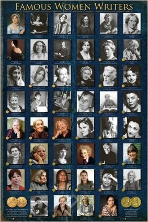 "ISP57019 ""Famous Women Writers - Famous Women Writers"" (24 x 36)"