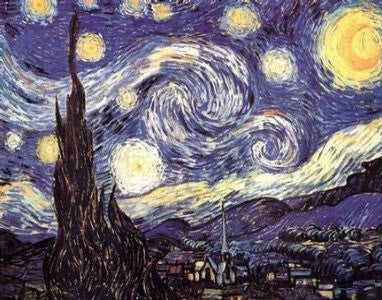 Vincent van Gogh - 'Starry Night' (24x34) - FAR90002