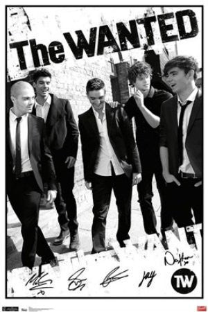 The Wanted (22x34) - MUS56011