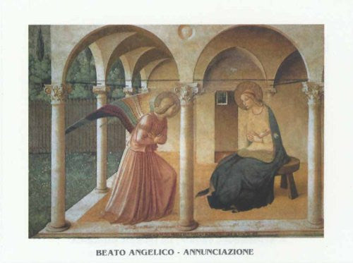 FAR31278 Beato, A. - 'The Annunciation' (23 X 31)