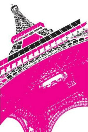 Paris - Eiffel Tower, Pink (24 X 36)