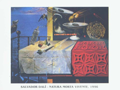 FAR32504 Dali, S. - 'A Lively Still Life' (23 X 31)
