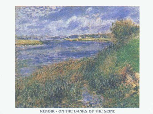 FAR32733 Renoir - 'On the Banks of the Seine' (20 X 28)