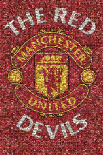 SPT33314 Manchester United - Mosaic (24 X 36)