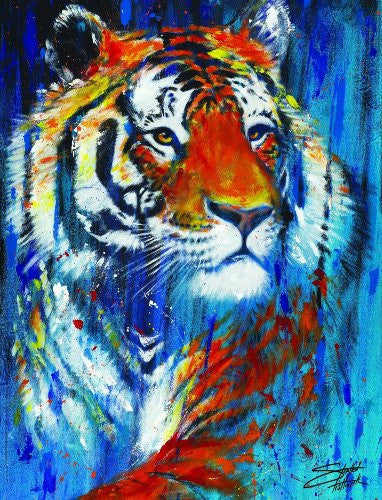 Stephen Fishwick - Tiger (18x24) - CANV00020