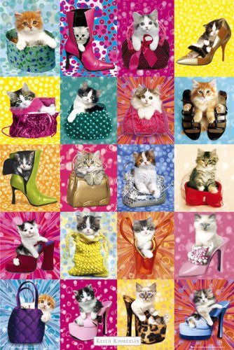 Cat Collage (24x36) - KID90001