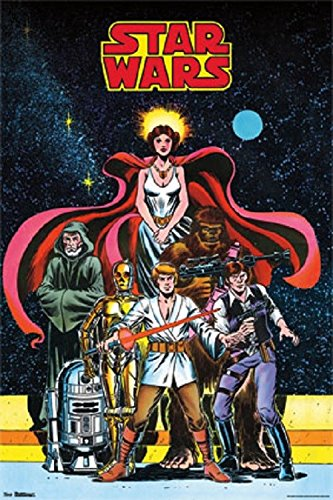 Star Wars - Comic (24x36) - FLM59260