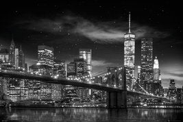 New York Freedom Tower (B&W) (24x36) - ARC00517