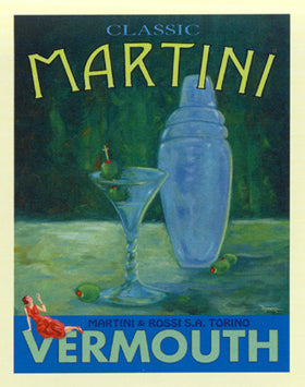 "Bob Downs - ""Classic Martini"" (11x14) - FAR62002"