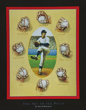 "David Marrocco - ""The Art of the Pitch"" (11x14) - FAR62001"
