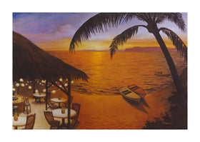 "David Marrocco - ""Tahitian Sunset"" (11x14) - FAR61027"