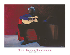 "David Owen - ""The Blues Traveler"" (11x14) - FAR64001"