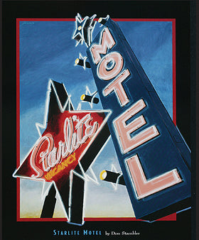 "Don Stambler - ""Starlite Motel"" (11x14) - FAR63003"