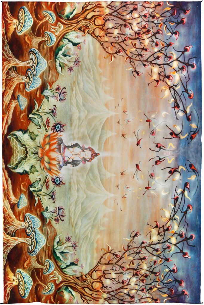 Enlightenment Heady Art Print Tapestry 53x85