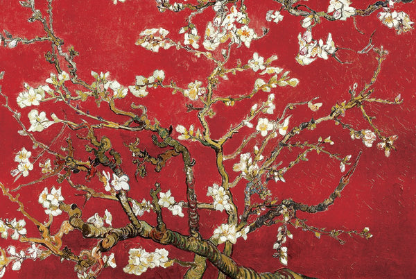 Van Gogh - Almond Blossom in Red 24x36 - FAR00800